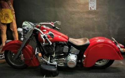 1999 Indian CHIEF LIMITED EDITION Gilroy fire engine red FIRE ENGINE RED for sale