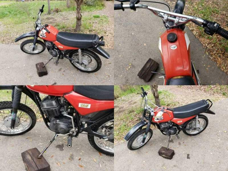 1999 Other Makes Wildcat 125 Red for sale