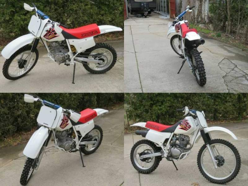 1999 Other Makes XR200R White for sale craigslist