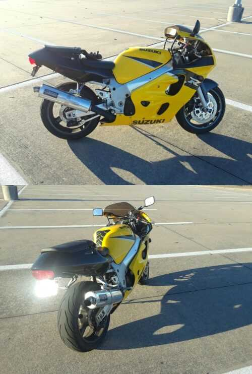 1999 Suzuki GSX-R Yellow for sale