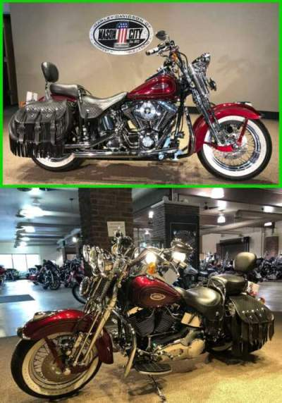 2000 Harley-Davidson Softail Heritage Springer® Luxury Rich Red for sale craigslist