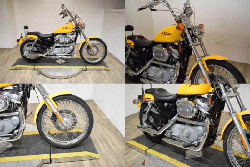2000 Harley-Davidson Sportster 883C Yellow for sale