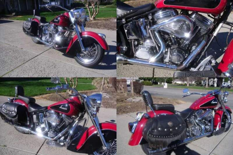 2000 Indian Chief Red for sale
