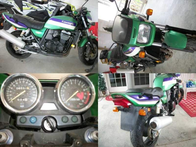2000 Kawasaki ZRX1100 Green for sale