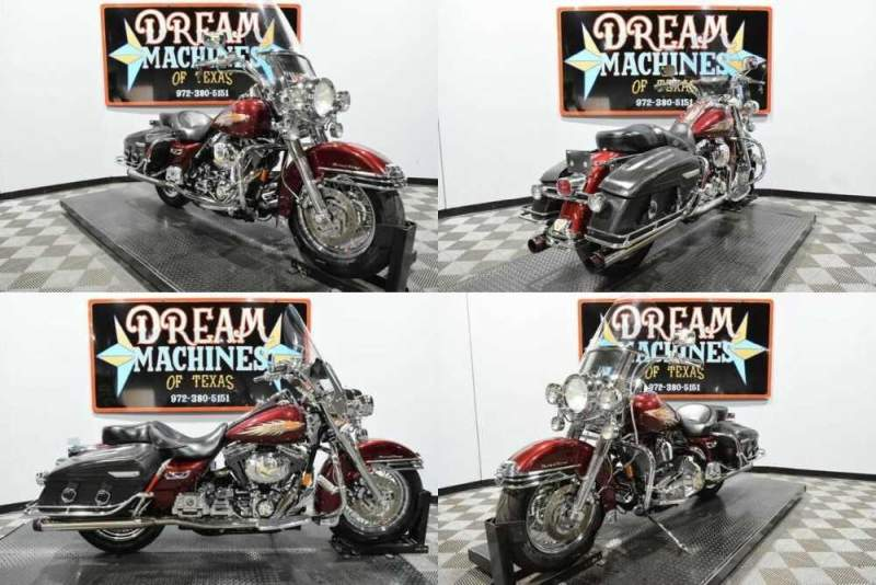 2001 Harley-Davidson FLHRCI - Road King Classic Red for sale craigslist
