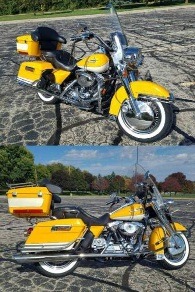 2001 Harley-Davidson Touring Yellow for sale