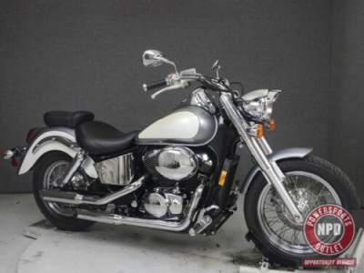 2001 Honda Shadow SILVER/WHITE for sale