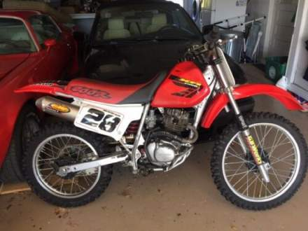 2001 Honda XR200R Red for sale craigslist