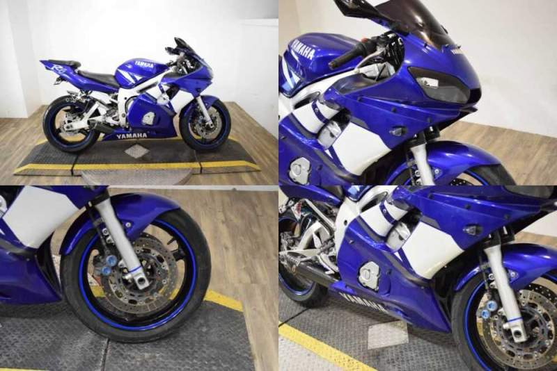 2001 Yamaha YZF-R Blue for sale