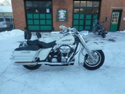 2002 Harley-Davidson Touring White for sale craigslist