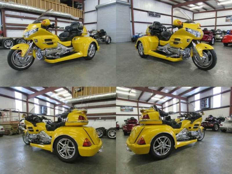 2002 Honda Gold Wing YELLOW for sale