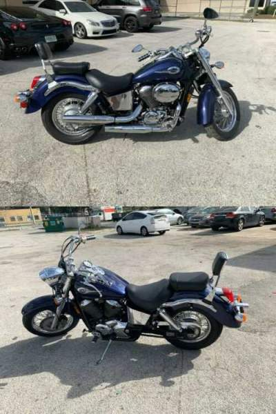 2002 Honda Shadow Ace 750 Blue for sale craigslist