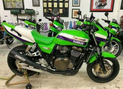 2002 Kawasaki ZRX 1200R LAWSON GREEN for sale