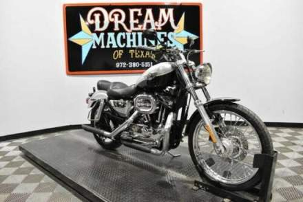 2003 Harley-Davidson XL1200C - Sportster 1200 Custom 100th Anniversary Silver for sale craigslist