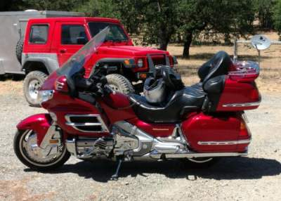 2003 Honda GL1800 Red for sale craigslist