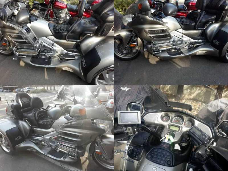 2003 Honda Gold Wing Silver for sale craigslist