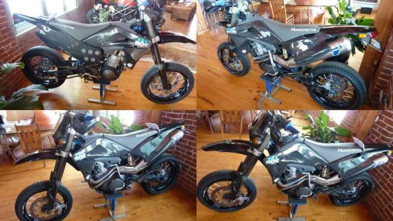 2003 Husqvarna HUSQVARNA NOX Black for sale
