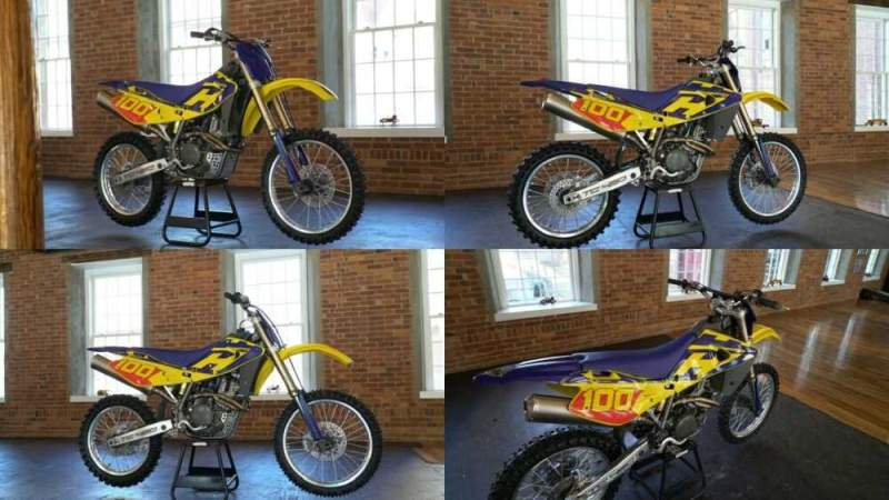 2003 Husqvarna TC450 Yellow / Blue for sale craigslist