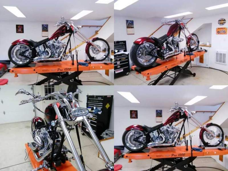 2004 Custom Built Motorcycles custom built candy apple red for sale