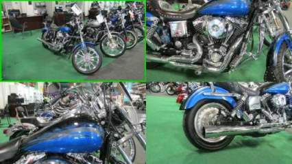 2004 Harley-Davidson Dyna FXDL LOW RIDER Blue for sale craigslist