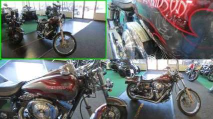 2004 Harley-Davidson Dyna GLIDE WIDE GLIDE GRAY w RED FLAMES for sale