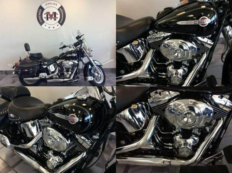 2004 Harley-Davidson FLSTCI HERITAGE Black for sale