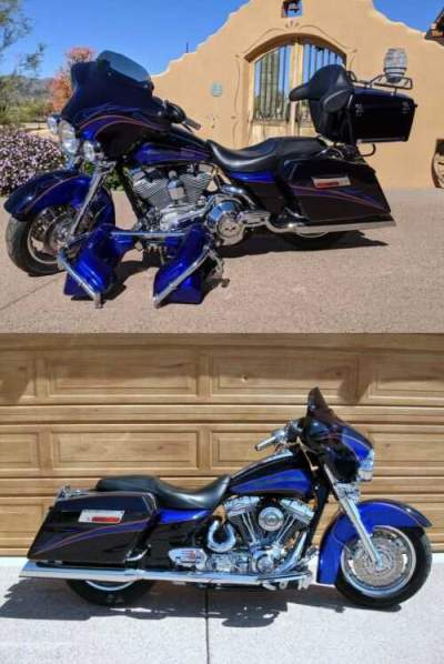 2004 Harley-Davidson Touring Candy Cobalt Wine Berry for sale craigslist