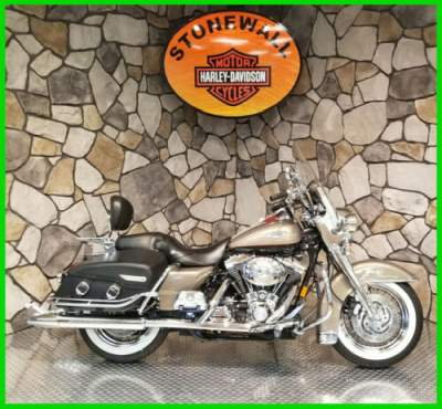 2004 Harley-Davidson Touring Two-tone Smokey Gold and Vivid Black for sale craigslist