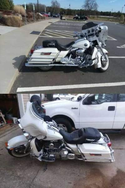 2004 Harley-Davidson Touring White for sale
