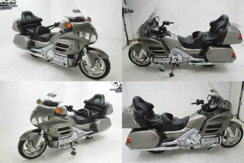 2004 Honda Gold Wing PEWTER for sale