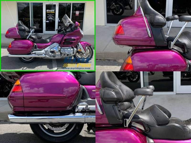2004 Honda Gold Wing Purple for sale craigslist