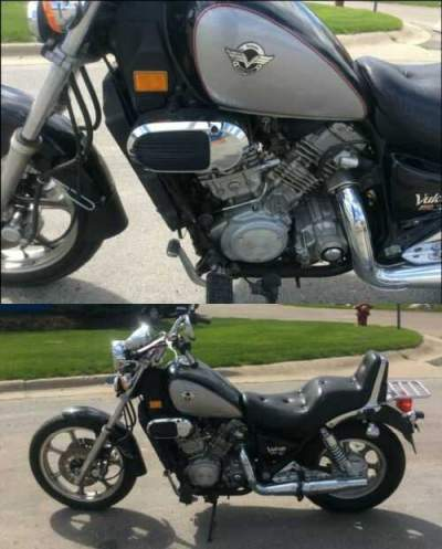2004 Kawasaki VN750A18 VULCAN Black for sale craigslist