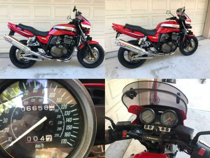 2004 Kawasaki ZRX 1200R for sale craigslist