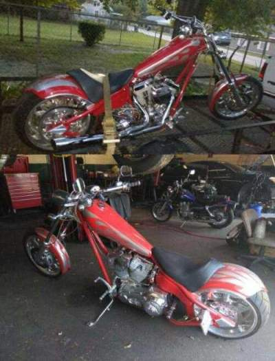 2005 American Ironhorse LSC Red for sale