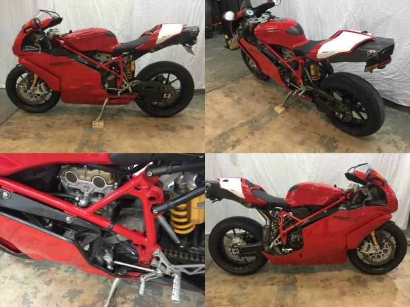 2005 Ducati Superbike Red for sale