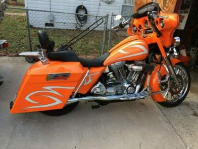 2005 Harley-Davidson Custom bagger Orange for sale