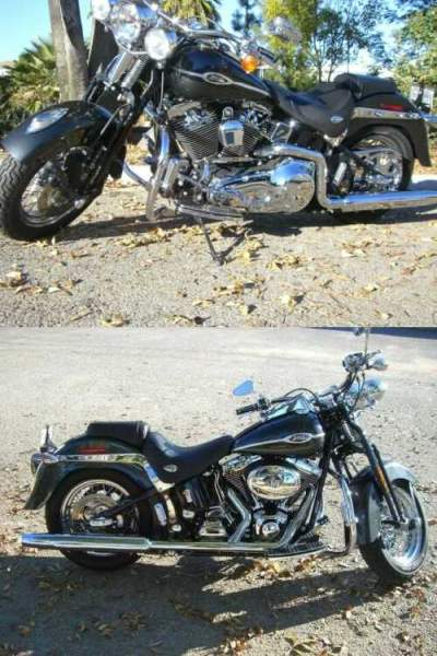 2005 Harley-Davidson Harley Davidson Softail Springer Classic Black for sale craigslist