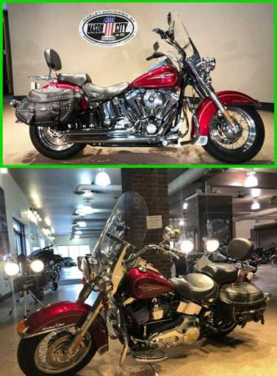 2005 Harley-Davidson Softail Heritage Softail® Classic Lava Red for sale