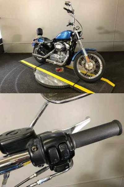 2005 Harley-Davidson Sportster® XL 883 Blue for sale craigslist