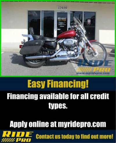 2005 Harley-Davidson Sportster 1200 Custom Red for sale
