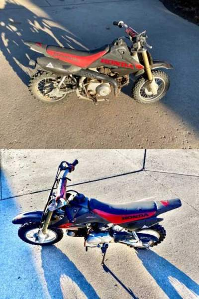 2005 Honda CRF Black and red for sale craigslist