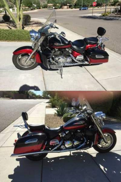 2005 Yamaha Royal Star Tour Deluxe Red/Black for sale