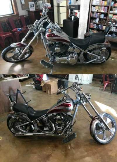 2006 Custom Built Motorcycles Pro Street Silver for sale craigslist