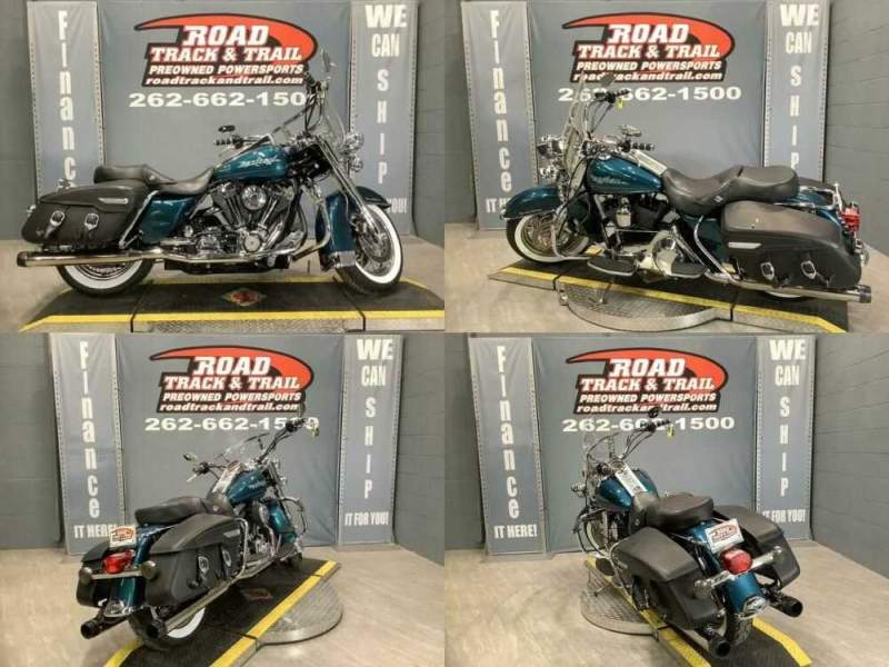 2006 Harley-Davidson FLHRCI - Road King® Classic Teal for sale