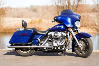 2006 Harley-Davidson Touring Deep Cobalt Pearl Blue for sale craigslist