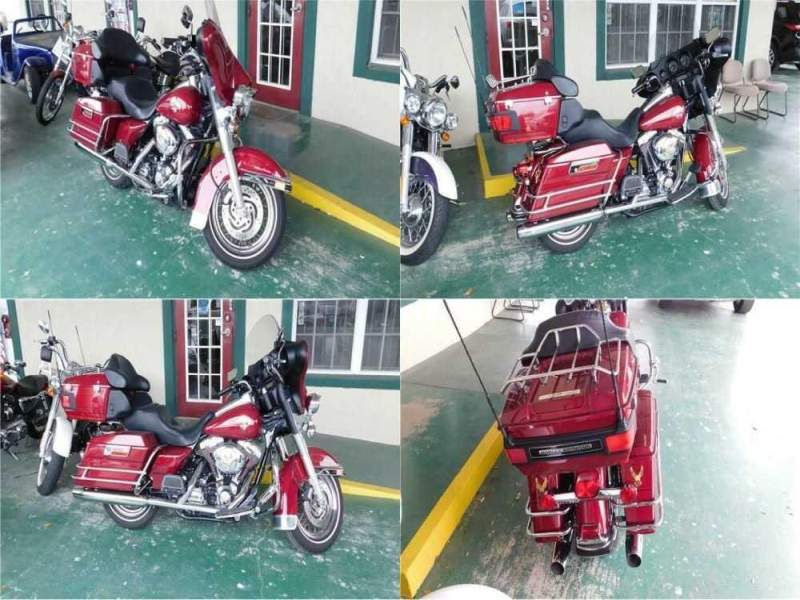 2006 Harley-Davidson Ultra Classic Electr Flhtcui Maroon for sale craigslist