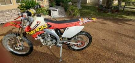 2006 Honda CRF Red for sale