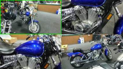 2006 Honda Shadow Spirit Blue for sale craigslist