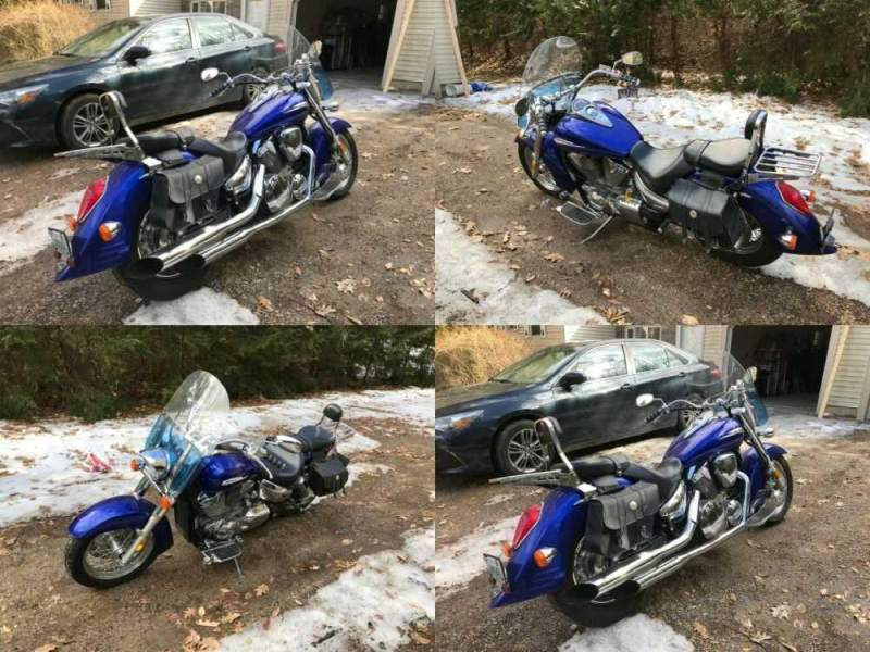 2006 Honda VTX 1300 Blue for sale craigslist