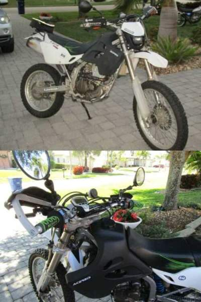 2006 Kawasaki dual sport Black for sale